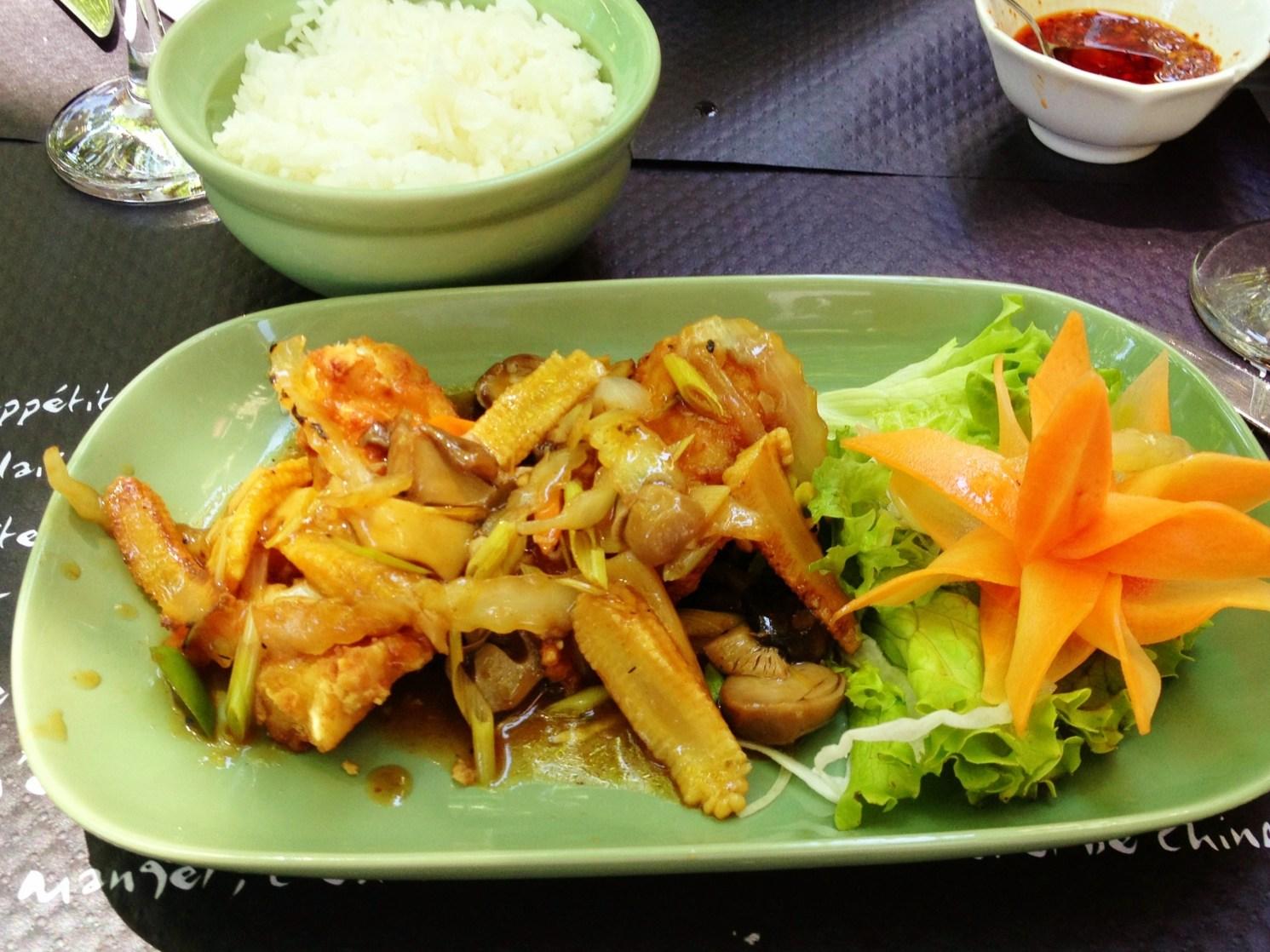 Thai food in France