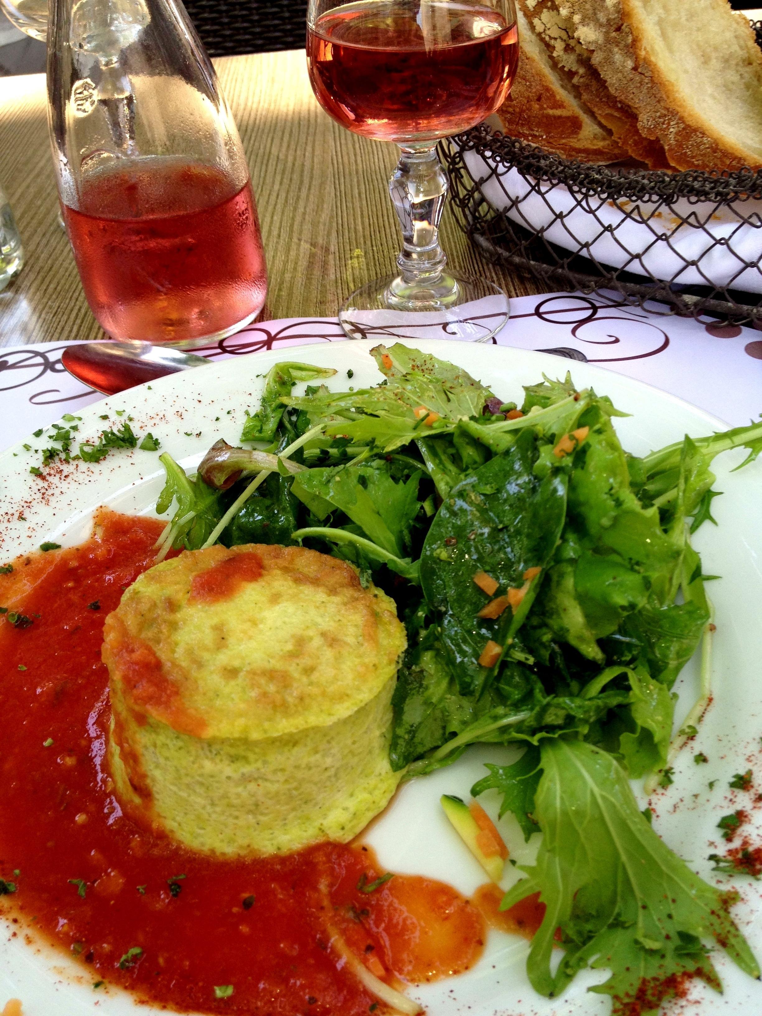 Restaurant in Uzes France
