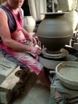 Pottery at San Quentin La Poterie France