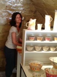 handmade pottery e