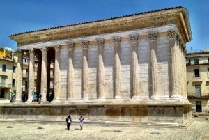 Maison Carrée in Nimes France