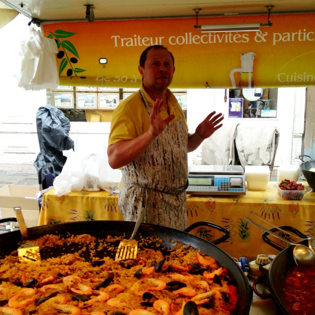 Wednesday Market in Sete, France