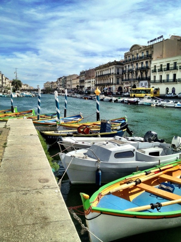 Sete a French beach holiday site