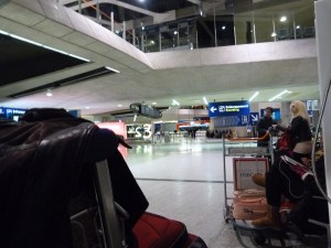 Morning at Charles de Gaulle