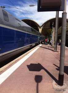 Nice train station