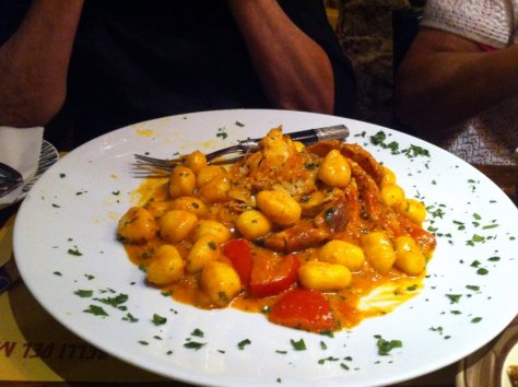 Gnocci with Albergine