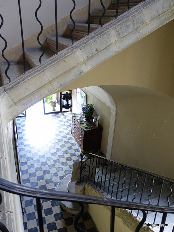 Hotel du Baron de Castille entrance