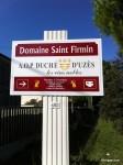 Domaine Saint Firmin in Uzes