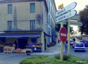 Gaiffier Green Grocer in Uzes