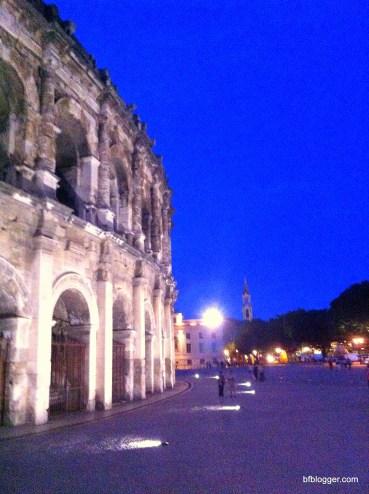 The Roman Arena in Nimes