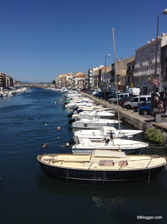 Sete, France on a weekend
