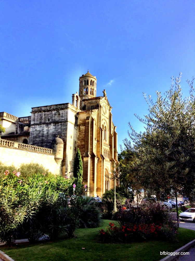 Cathedral in Uzes France