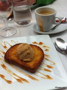 Brioche with Caramel Glace
