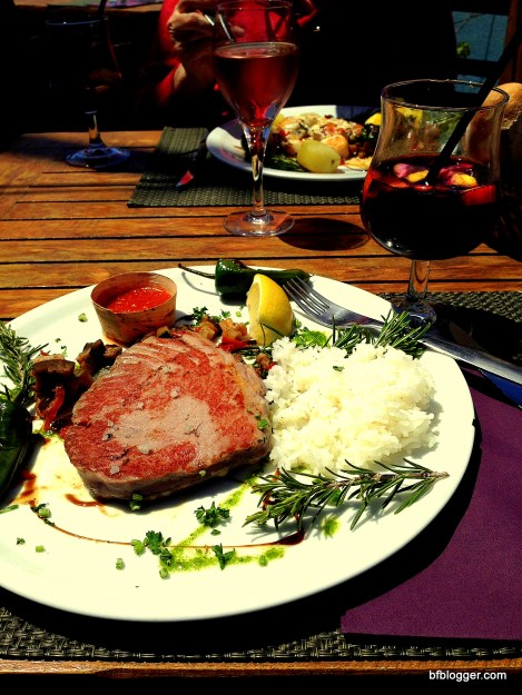 Tuna Steak in Collioure, France