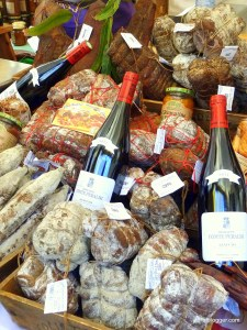 Saucisson in Uzes, France