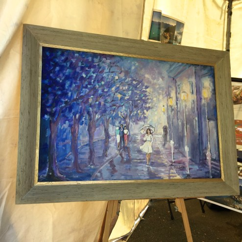 Paintings at the Dogwood Art Festival