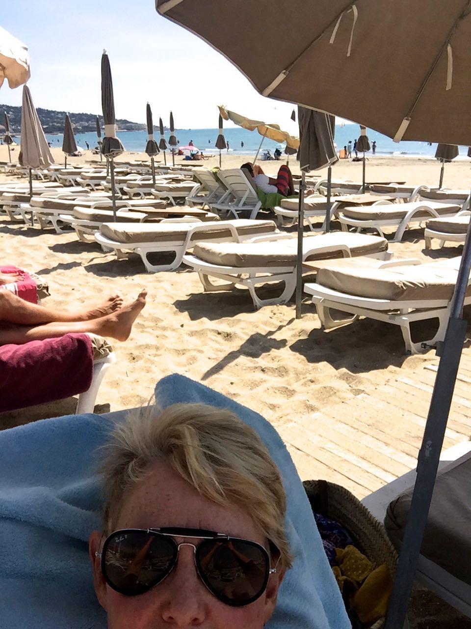 beach in Sete