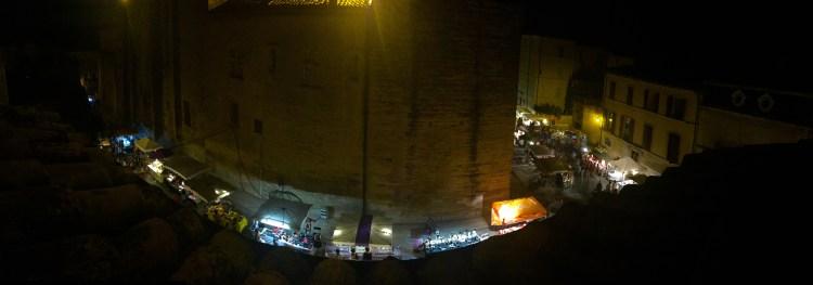 Tuesday night around the Plaza de Duche