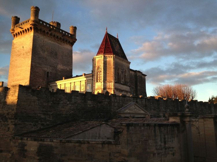 Skyscape in Uzes France