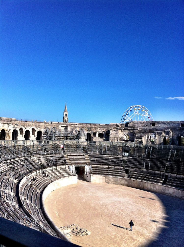 Aréna in Nimes
