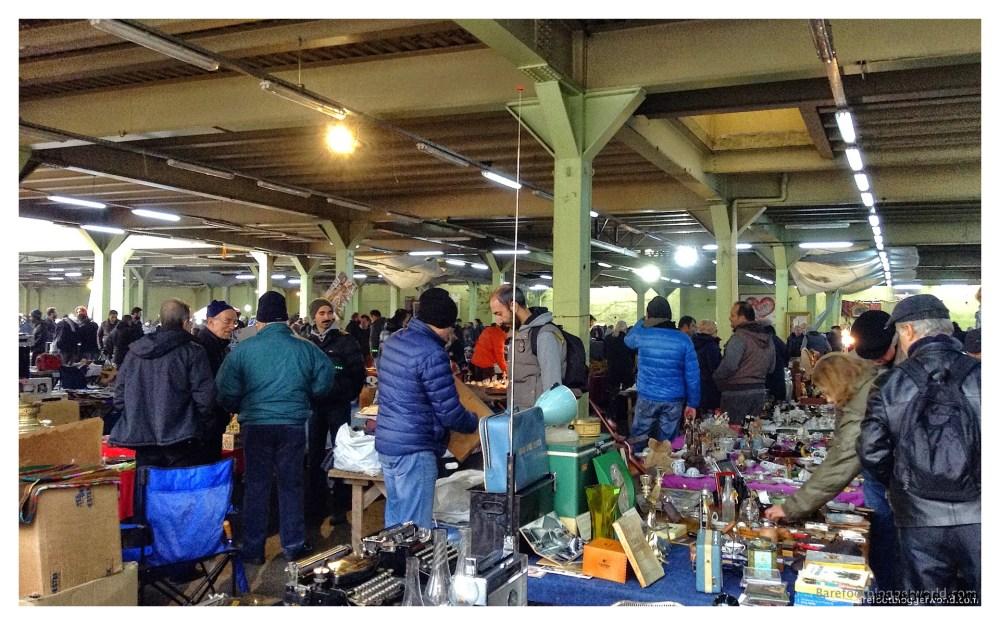 Flea market on Asian side of Istanbul