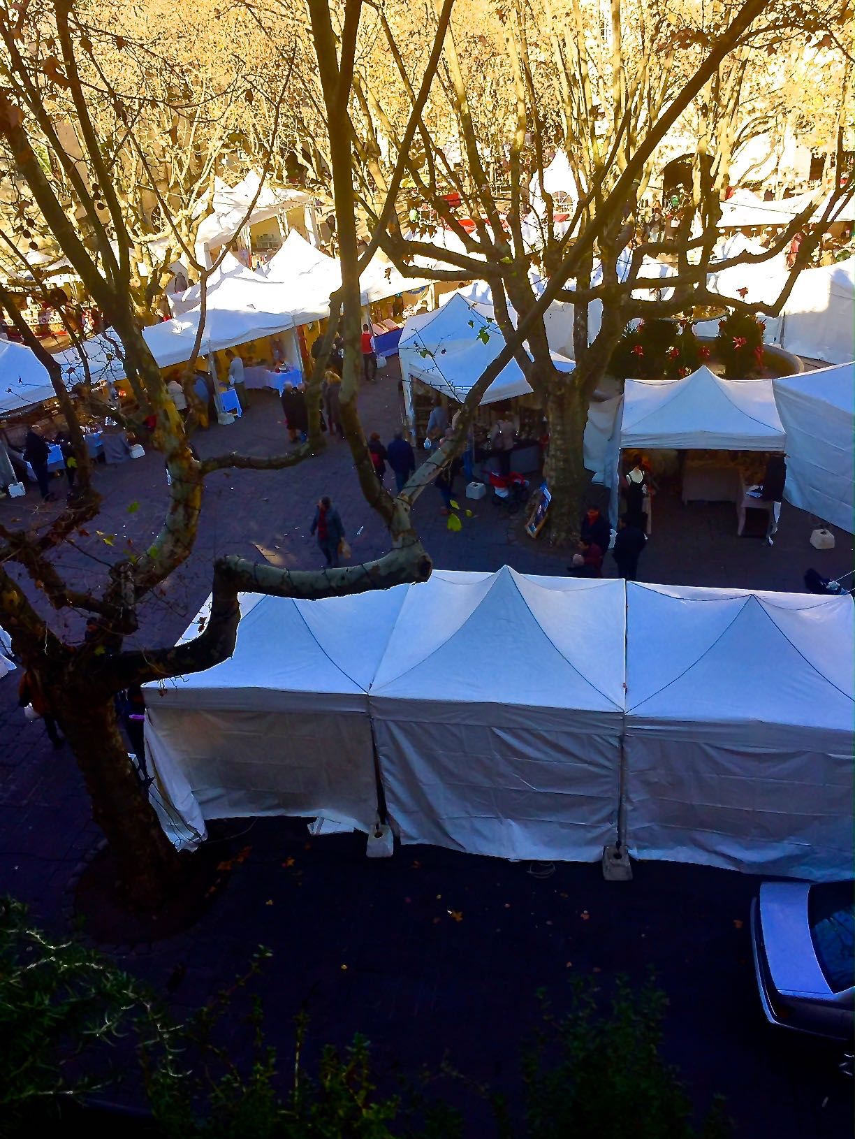 Uzes Christmas Market 2016