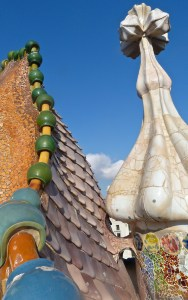 Rooftop at Casa Batlló