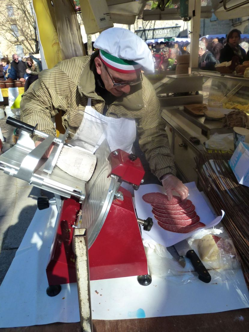 Uzes Saturday Market