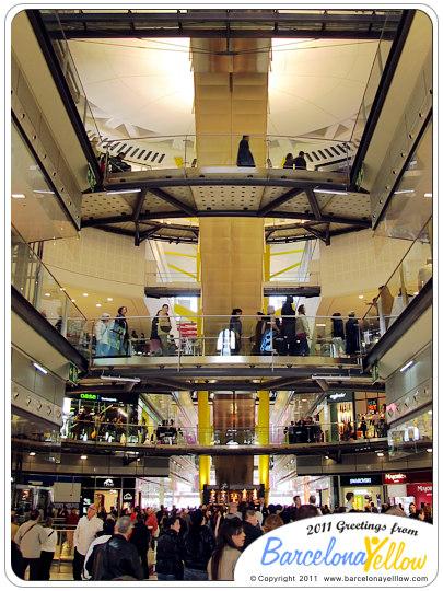 Las Arenas Mall in Barcelona