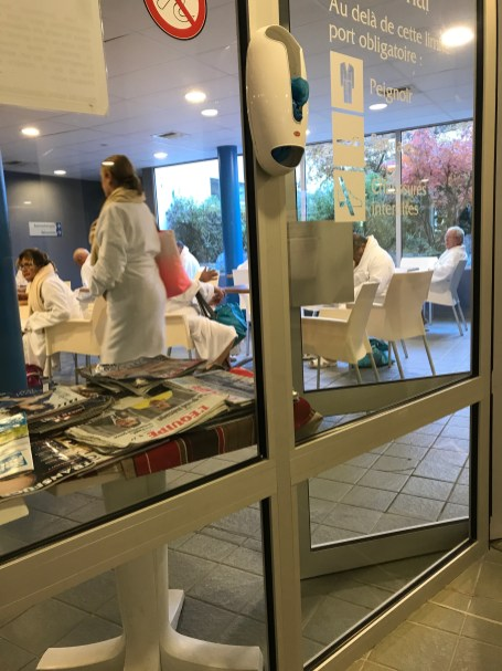 French thermal spa cure