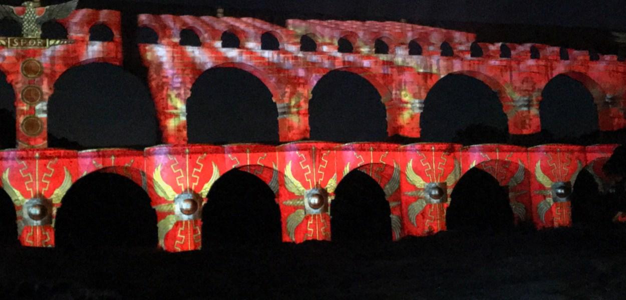 pont du gard show