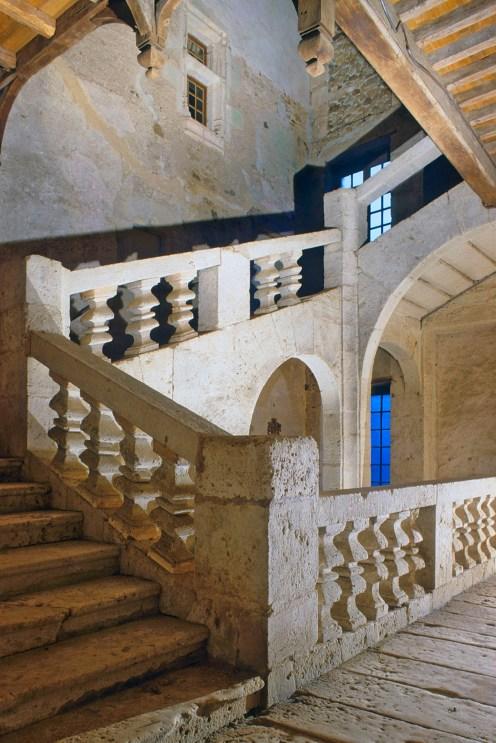 Périgord style stairway