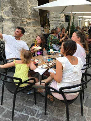 grand re-opening in Uzès
