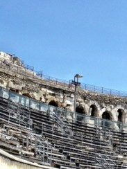 Inside the Nimes Arena