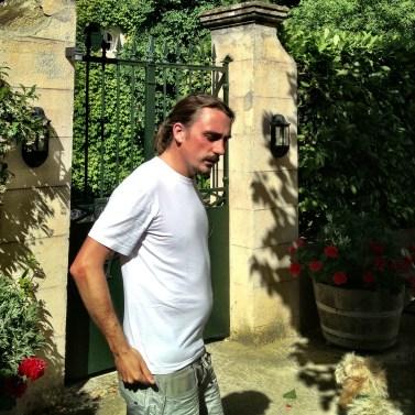 Winemaker, outside Sete