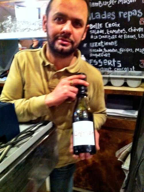 Provence Cafe owner, Uzes