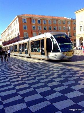 Tram in Nice, France