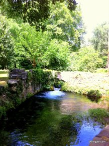 Source d'Eure in Uzes Park