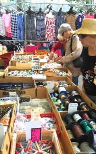 Outdoor market in Sete