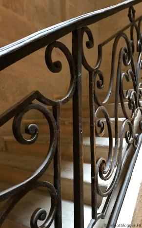 Original railing