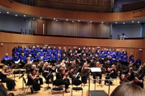 Puccini and Mendelssohn in the Ruddock Performing Arts Centre, King Edward's School.
