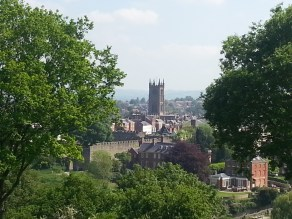 St Laurence Church, Ludlow.