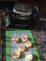 Cinnamon Bun Waffles...