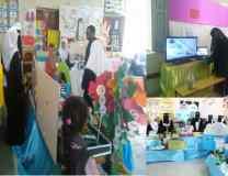 المدير التنفيذي لمؤسسة الصندوق الخيري للطلاب المتفوقين(BFFOS) يزور معرض الوسائل التعليمية الرابع عشر بالمكلا
