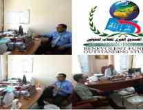 المدير التنفيذي لمؤسسة الصندوق الخيري للطلاب المتفوقين يلتقي الدكتور سمير بن سالم البوري