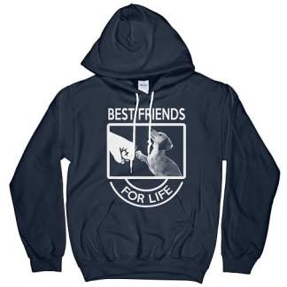 Dachshund Best Friends For Life Hoodie