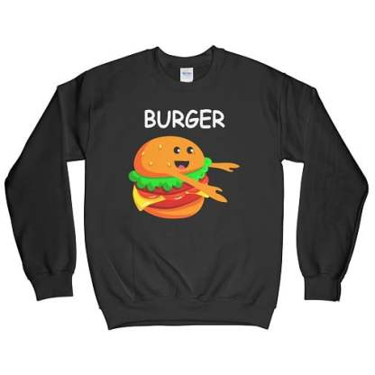 Burger Matching Best Friend Sweatshirts