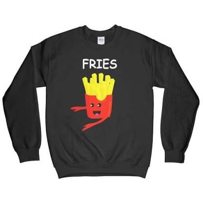 Fries Matching Best Friend Sweatshirts