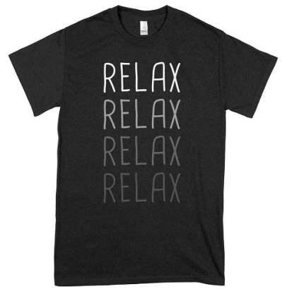 RELAX Massage Therapist T-Shirts