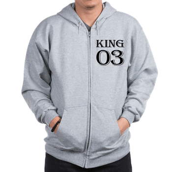 King Best Friend Hoodie For 3
